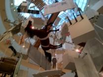 Maurizio Cattelan Installation at the Guggenheim