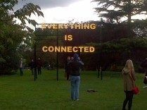 @Frieze London: Peter Liversidge, Everything is Connected, 2012, Ingleby Gallery